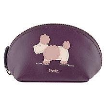 Buy Radley Dog Show Small Zip Coin Purse, Purple Online at johnlewis.com