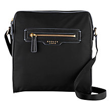 Buy Radley Mercer Street Crossbody Bag, Black Online at johnlewis.com