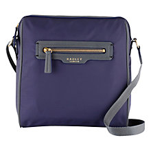 Buy Radley Mercer Street Crossbody Handbag, Navy Online at johnlewis.com