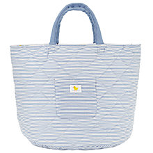 Buy John Lewis Baby City Transport Storage Bag, Blue Online at johnlewis.com