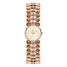 Buy Orla Kiely Women's Stem Bracelets Strap Watch Online at johnlewis.com