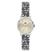 Buy Orla Kiely Women's Plant Print Strap Leather Strap Watch Online at johnlewis.com