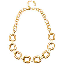 Buy Adele Marie Matte Flat Link Necklace Online at johnlewis.com