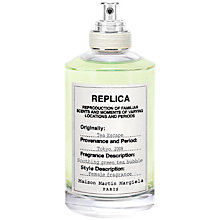 Buy Maison Margiela Replica Tea Escape Eau de Toilette, 100ml Online at johnlewis.com