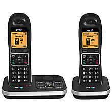 Buy BT 7610 Digital Cordless Phone with Nuisance Call Blocker & Answering Machine, Twin DECT Online at johnlewis.com
