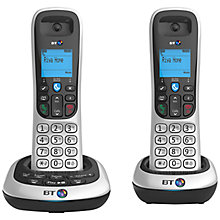 Buy BT 2600 Digital Cordless Phone with Answering Machine, Twin DECT Online at johnlewis.com