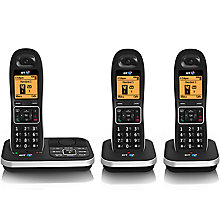 Buy BT 7610 Digital Cordless Phone with Nuisance Call Blocker & Answering Machine, Trio DECT Online at johnlewis.com