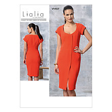 Buy Vogue Women's Dress Sewing Pattern, 1457 Online at johnlewis.com