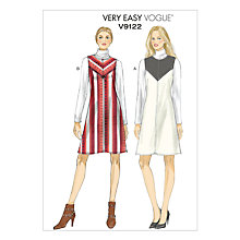 Buy Vogue Very Easy Women's Jumper Sewing Pattern, 9122 Online at johnlewis.com