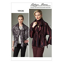 Buy Vogue Women's Lightweight Jacket Sewing Pattern, 9135 Online at johnlewis.com