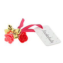 Buy Rockahula Bow and Flower Ring Set, Pack of 3, Red/Gold Online at johnlewis.com