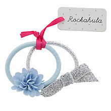 Buy Rockahula Flower Ponies, Pack of 2, Blue/Silver Online at johnlewis.com