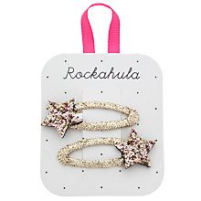 Buy Rockahula Glitter Star Clips, Pack of 2 Online at johnlewis.com