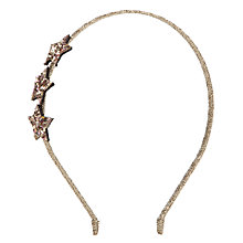 Buy Rockahula Glitter Star Alice Band Online at johnlewis.com