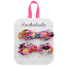 Buy Rockahula Kimono Hair Clips, Pack of 2, Pink Online at johnlewis.com