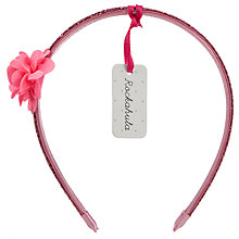 Buy Rockahula Glitter Flower Alice Band Online at johnlewis.com