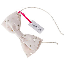 Buy Rockahula Starry Bow Alice Band Online at johnlewis.com