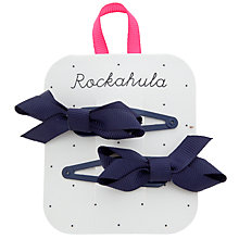 Buy Rockahula Twisted Bow Clips, Pack of 2 Online at johnlewis.com