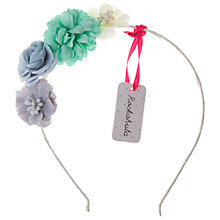 Buy Rockahula Tallulah Flower Alice Band, Blue Multi Online at johnlewis.com