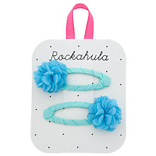 Buy Rockahula Glitter Chiffon Pom Pom Clips, Pack of 2 Online at johnlewis.com