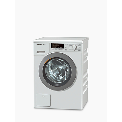 Image of Miele WKB 120 Freestanding Washing Machine, 8kg Load, A+++ Energy Rating, 1600rpm Spin, White