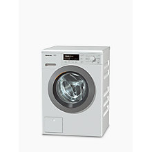 Buy Miele WKB 120 Freestanding Washing Machine, 8kg Load, A+++ Energy Rating, 1600rpm Spin, White Online at johnlewis.com