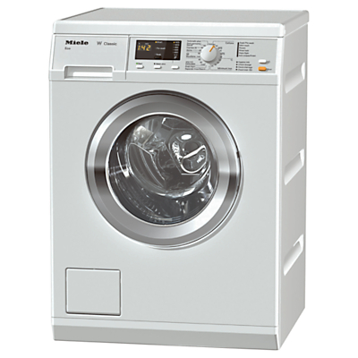 Miele WDA111 Freestanding Washing Machine, 7kg Load, A+++ Energy Rating, 1400rpm Spin, White