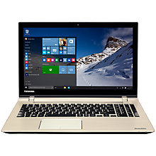 "Buy Toshiba Satellite P50T-C-104 Laptop, Intel Core i7, 16GB RAM, 1TB + 8GB SSD, 15.6"" Touch Screen, Silver Online at johnlewis.com"