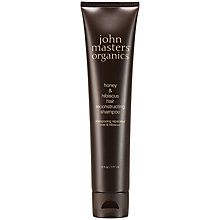Buy John Masters Honey & Hibiscus Reconstructing Shampoo, 177ml: With Free Gift Online at johnlewis.com