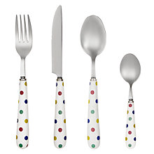 Buy John Lewis Ceramic Spot Cutlery Online at johnlewis.com