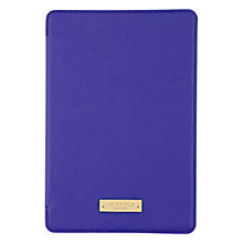 Buy kate spade Hardcase Folio for iPad Mini, Blue Online at johnlewis.com