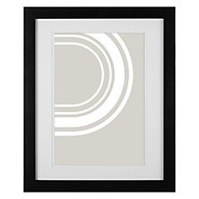 Buy John Lewis Certificate Frame & Mount, Black Online at johnlewis.com
