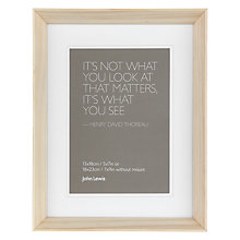 "Buy John Lewis Colour Theory Photo Frame, 5 x 7"" (13 x 18cm) Online at johnlewis.com"