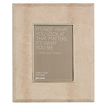 "Buy John Lewis Chloe Photo Frame, 5 x 7"" (13 x 18cm) Online at johnlewis.com"