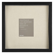 Buy John Lewis Memory Box Photo Frame, Black, 30 x 30cm Online at johnlewis.com