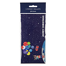 Buy John Lewis Man on the Moon Money Wallets, Pack of 2 Online at johnlewis.com