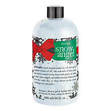 Buy Philosophy Snow Angel 3-in-1 Shampoo/Shower Gel/Bubble Bath, 480ml Online at johnlewis.com