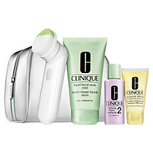 Buy Clinique 'Cleansing By Clinique' Sonic & Skincare Gift Set Online at johnlewis.com