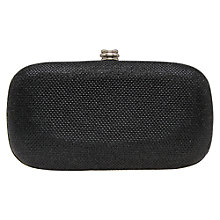 Buy Carvela Darling Box Clutch Bag, Black Online at johnlewis.com