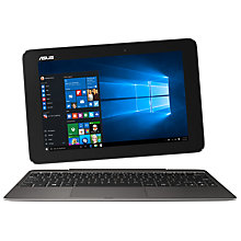 "Buy ASUS Transformer Book, Intel Atom, 2GB RAM, 64GB, 10.1"" Touch Screen Online at johnlewis.com"