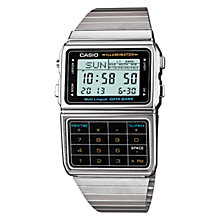 Buy Casio DBC-611E-1EF Unisex Stainless Steel Strap Watch, Silver Online at johnlewis.com