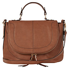 Buy Oasis Marley Satchel, Tan Online at johnlewis.com