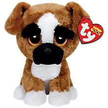 Buy Ty Beanie Boo Brutus Soft Toy, 16cm Online at johnlewis.com