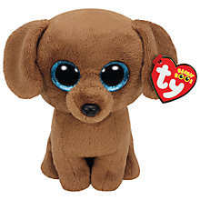 Buy Ty Beanie Boo Dougie Soft Toy Online at johnlewis.com