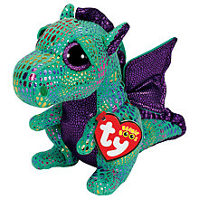 Buy Ty Beanie Boo Cinder Soft Toy, 16cm Online at johnlewis.com
