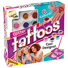 Buy FabLab Glitter Tattoos Kit Online at johnlewis.com