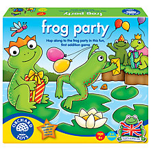 Buy Orchard Toys Frog Party Game Online at johnlewis.com