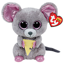 Buy Ty Beanie Boo Squeaker Soft Toy Online at johnlewis.com
