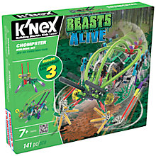 Buy K'Nex Beasts Alive Chompster Construction Set, 141 Pieces Online at johnlewis.com