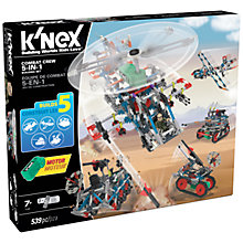 Buy K'Nex Combat Crew 5 In 1 Construction Set, 539 Pieces Online at johnlewis.com